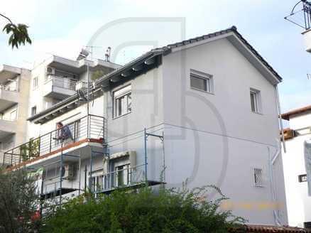 ξύλινη κατοικία, προσθήκη, καθ, ύψος, προκατασκευασμένη, στέγη, οικοδομή